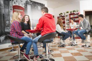 speaking in the teenage classroom