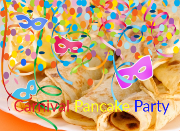 evento per bambini in inglese carnival pancake party