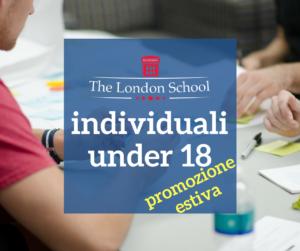 promozione estiva corsi individuali under 18 thiene
